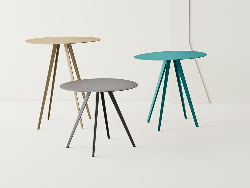 Round Metal Coffee Table AgorÀ By Segis
