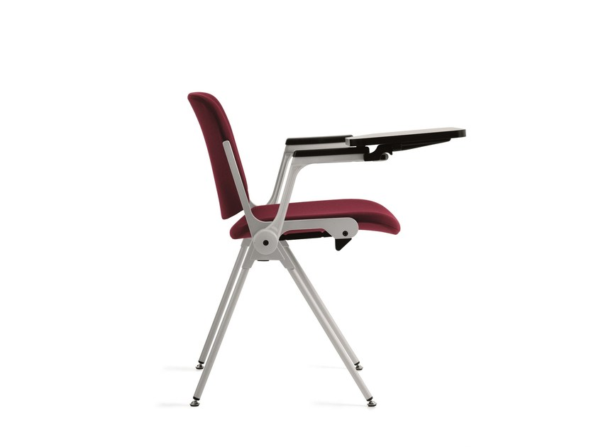 Sedie Ufficio Con Ribaltina : Sedia da conferenza in tessuto con ribaltina agorÀ sedia da