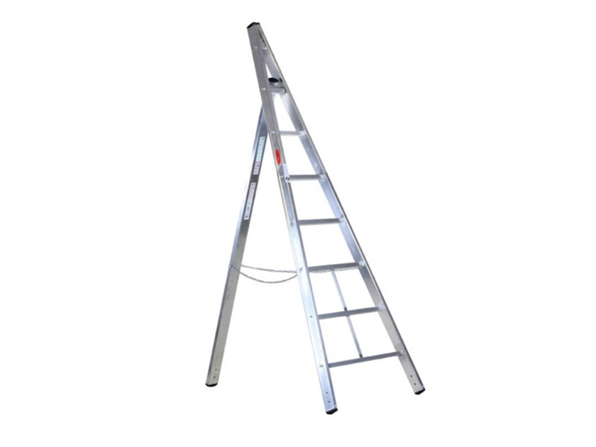 Aluminium heavy duty ladder AGRILUXE by SVELT