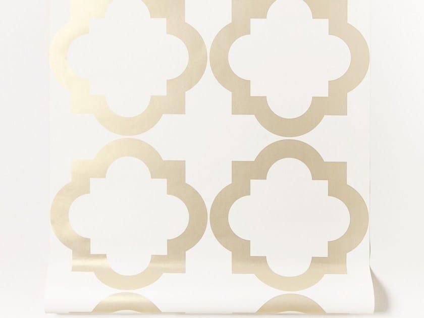 Motif paper wallpaper strip AGUA by Equipo DRT