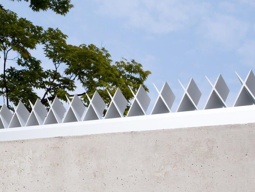 Sistemi di protezione antiscavalcamento per muri perimetrali AGx by morita