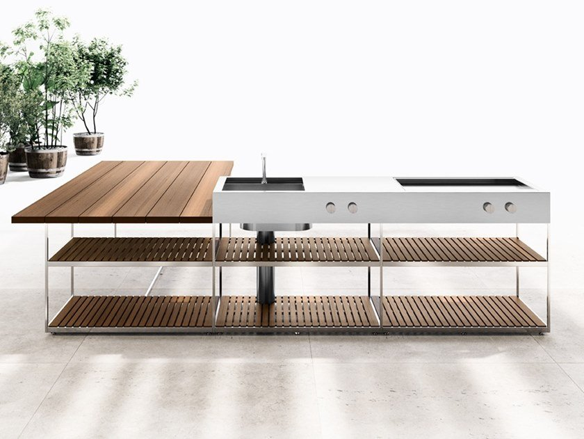 Ah01 Outdoor Kitchen By Boffi Design Alessandro Andreucci