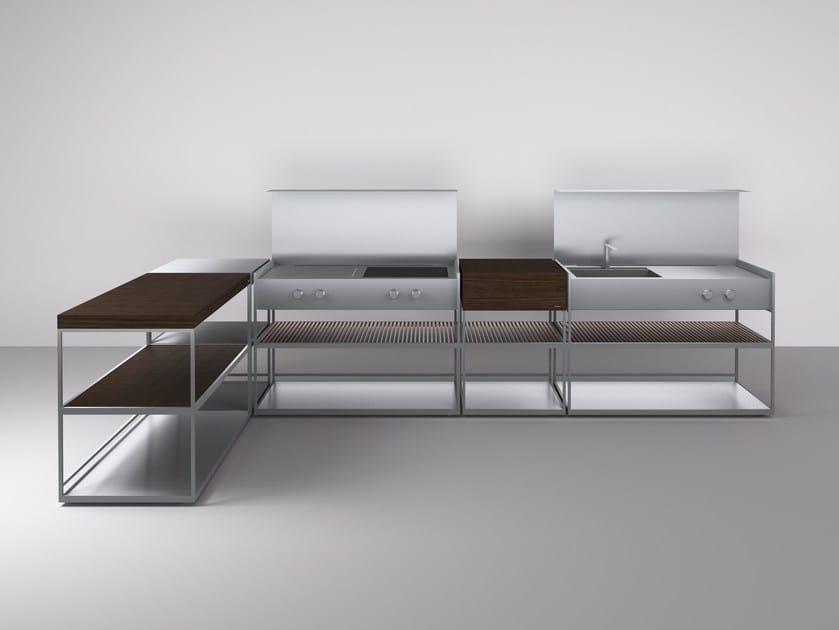 Outdoorküche Arbeitsplatte Usa : Ah outdoorküche by boffi design alessandro andreucci