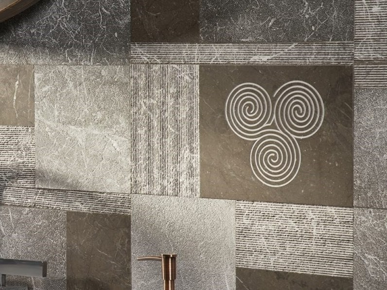 Marble wall/floor tiles AHUTA by AKDO