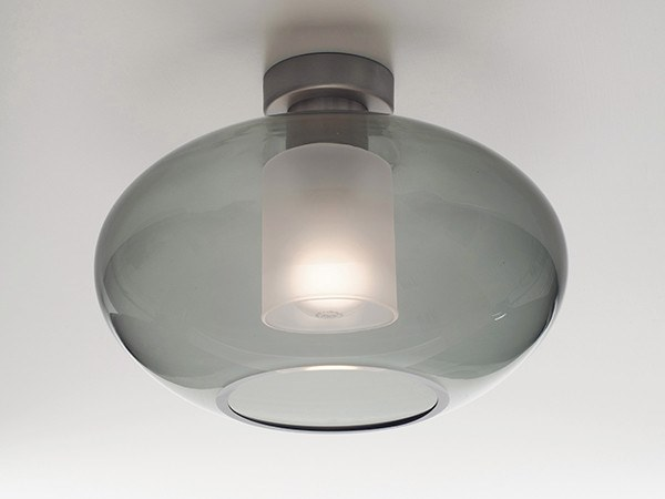 Vetro Aih In Alluminio Casablanca Soffitto E Da GraphiteLampada Yyf7vbg6