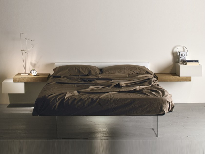AIR | Bed with integrated nightstands Air Collection By Lago design ...