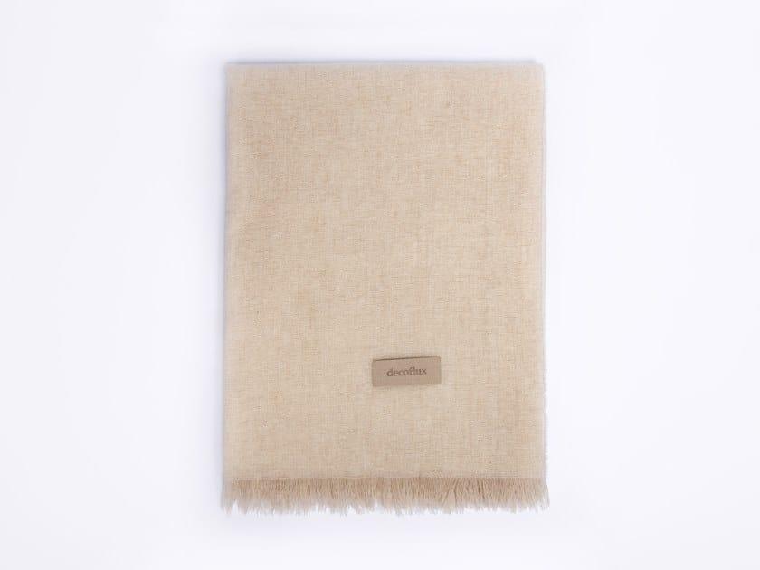 Merino wool blanket AIR | Blanket by Decoflux