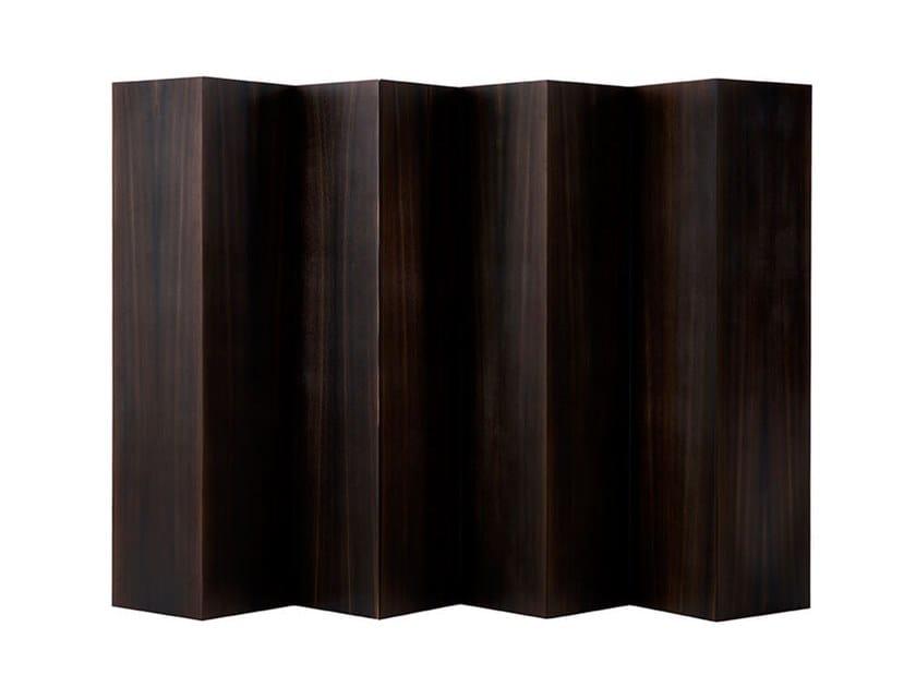 Paravento in legno impiallacciato AIR by HC28