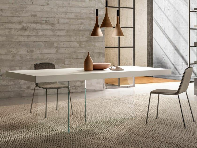 Rectangular Fenix-NTM® table AIR   Fenix-NTM® table by Lago