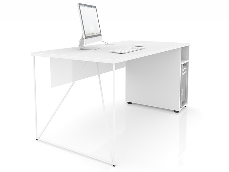 Workstation desk with cable management AIR | Office desk by NARBUTAS