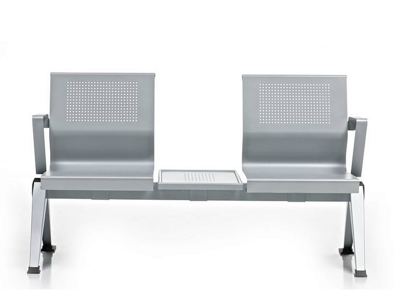Freestanding beam seating with armrests AIRA | Beam seating with armrests by Diemme
