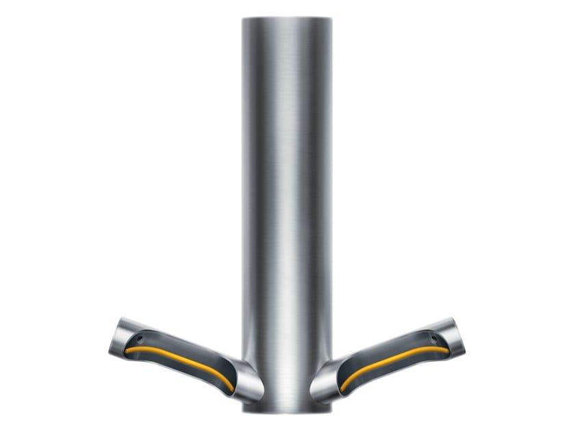 Asciugamani elettrico in acciaio inox a lama d'aria AIRBLADE 9KJ by Dyson