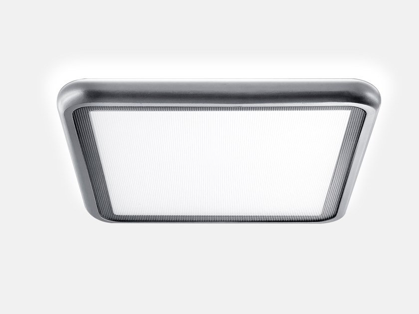 Wall lamp / ceiling lamp AIRTIME SQUARE SURFACE A2/X2 by Lightnet