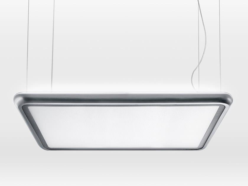 LED pendant lamp AIRTIME SQUARE SUSPENDED G2/P2 by Lightnet