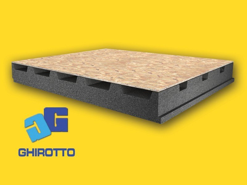 Ventilated roof system AIRVENT BD GRAFITE | Ventilated roof system by GHIROTTO
