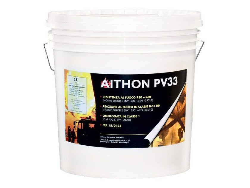 Fire retardant varnish AITHON PV33 by Aithon Ricerche