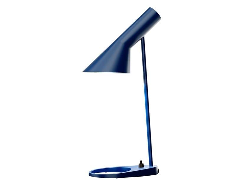 Lampe de table en acier pour éclairage direct AJ TABLE MINI by Louis Poulsen