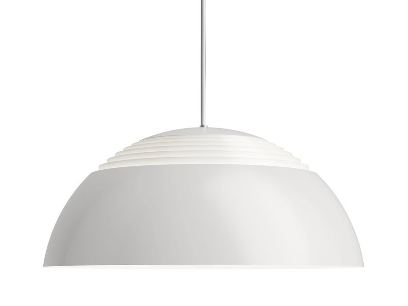 Direct light aluminium pendant lamp AJ ROYAL by Louis Poulsen