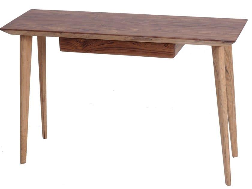 Wooden secretary desk with drawers AJJI | Secretary desk by ALANKARAM