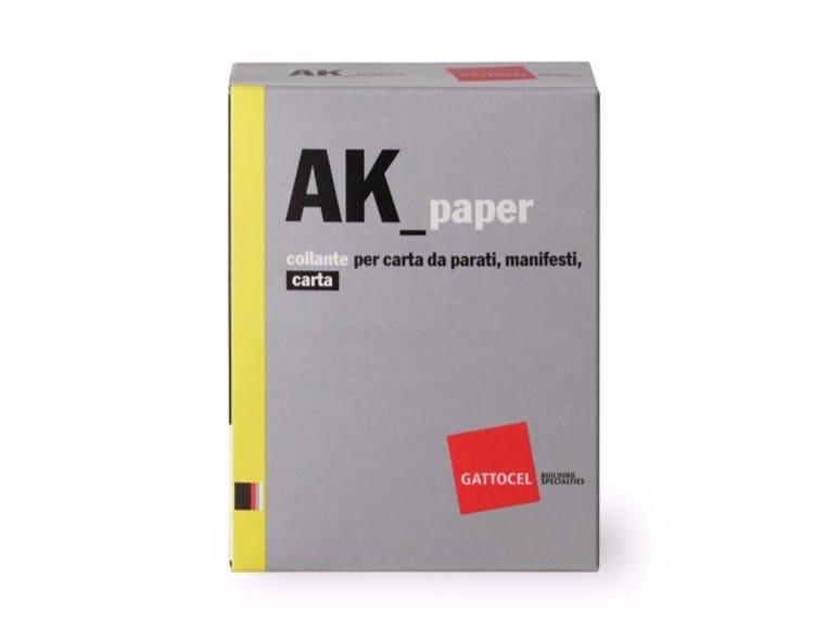 Glue and mastic AK_paper by Gattocel Italia