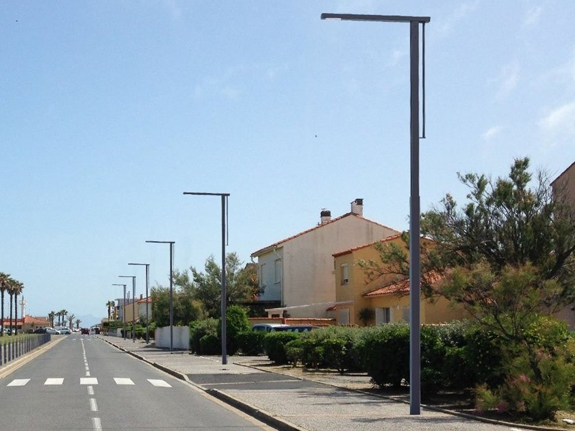 Metal street lamp AKANDA by GHM-ECLATEC