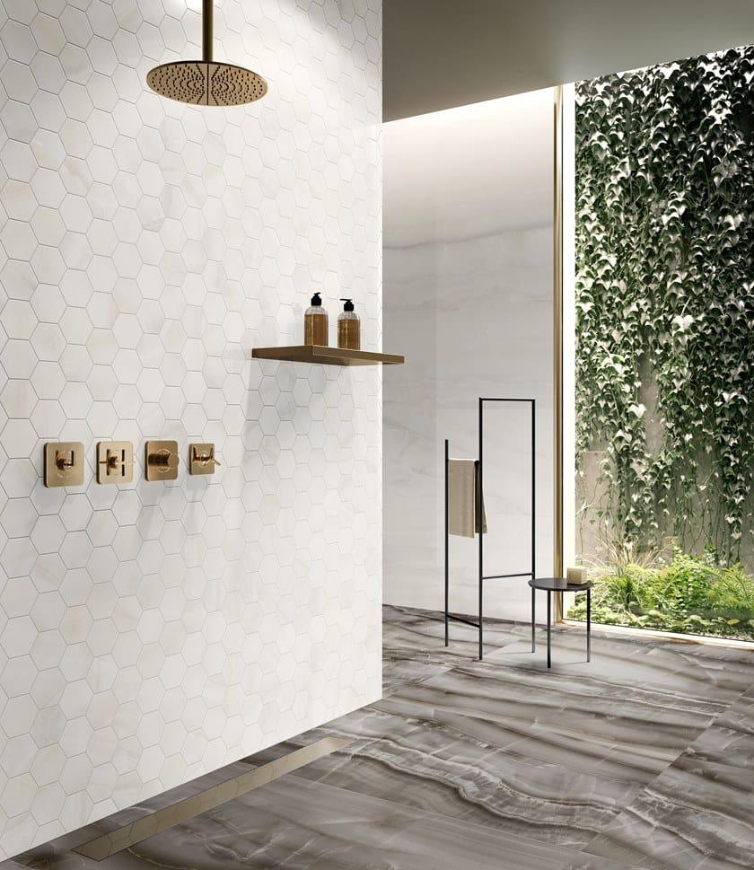 Gres Porcellanato Prezzi Bassi pavimento/rivestimento in gres porcellanato effetto marmo