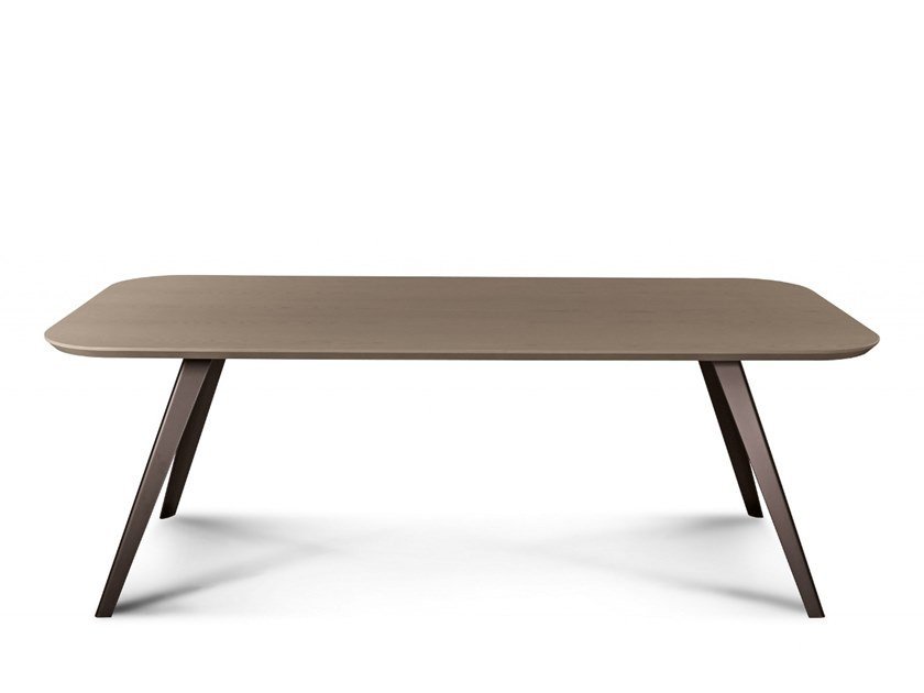 Rectangular dining table AKY MET | Dining table by TrabA'