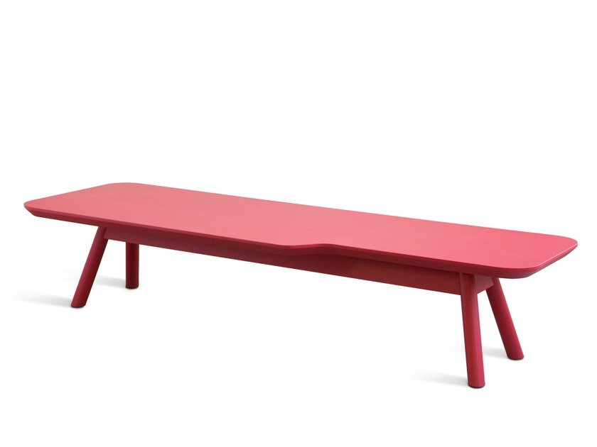 AKY SMALL Rectangular Coffee Table By TrabA Design Emilio Nanni - Small oblong coffee table