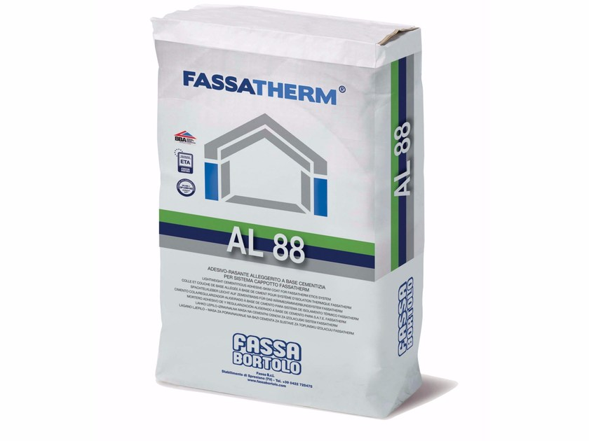 Special fixing for insulation AL 88 by FASSA