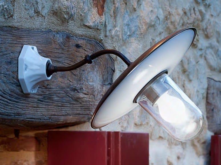 Wall lamp with fixed arm AL SOLE by Aldo Bernardi