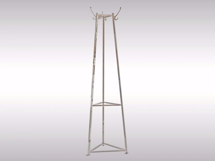 Brass coat stand AL2 by Woka Lamps Vienna