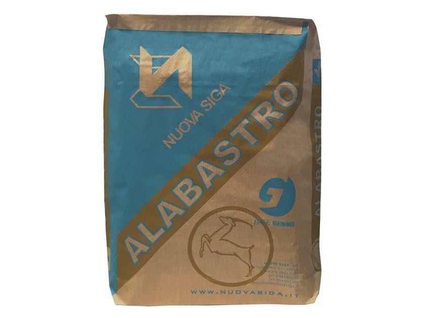 Smoothing compound / Gypsum and plaster ALABASTRO by Nuova Siga