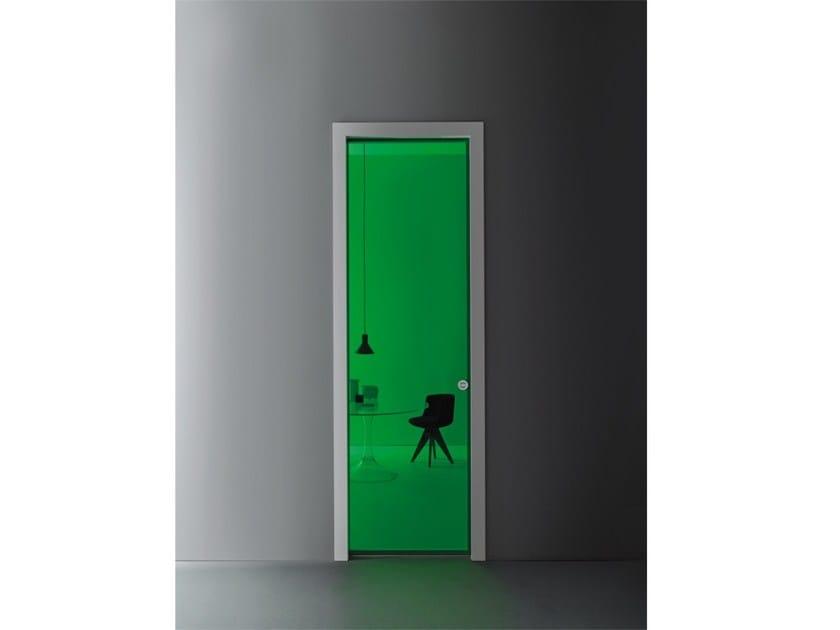 Glass Pocket Sliding Door Aladin Pocket Frame Mono Aladin Collection
