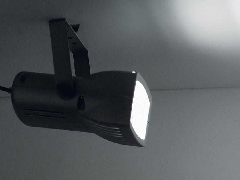 Adjustable die cast aluminium ceiling lamp ALASKA by LANZINI