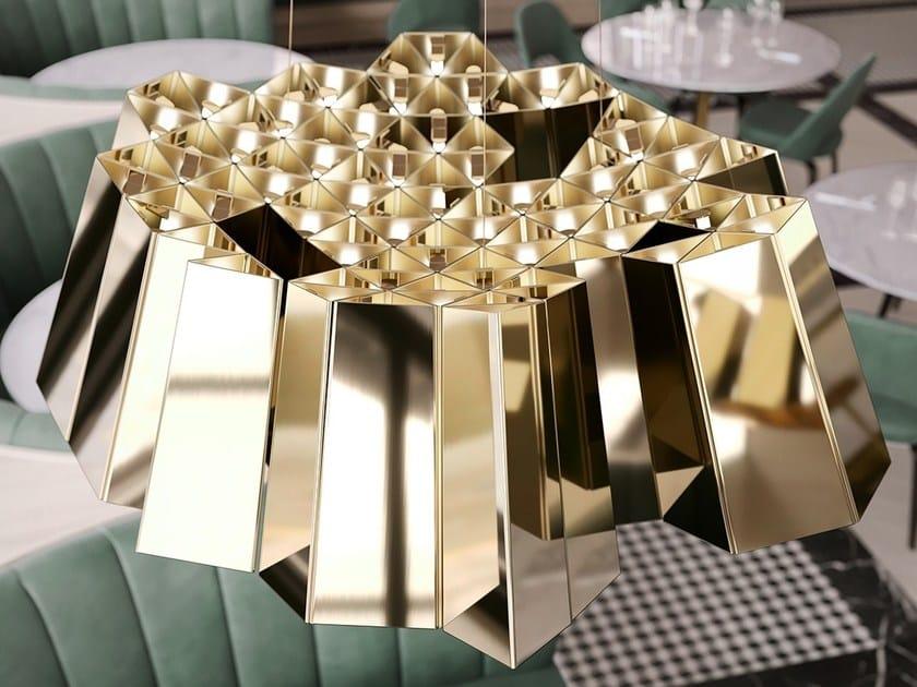 Metal pendant lamp ALAVUS by Cameron Design House