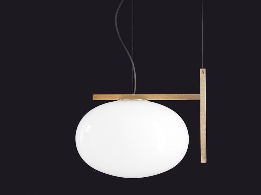 Direct Light Opal Gl Pendant Lamp