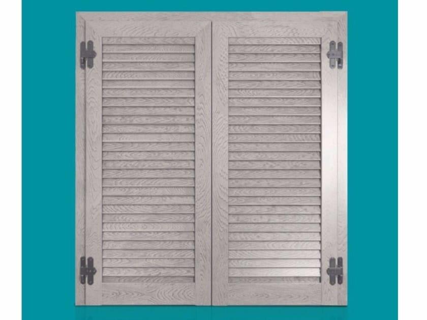 Wooden shutter ALBA FIXED by Cos.Met.