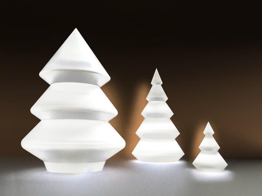 Polyethylene floor lamp ALBA LIGHT TREE by ARKEMA DESIGN