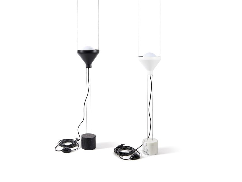 Metal pendant lamp / floor lamp ALBA by Atipico