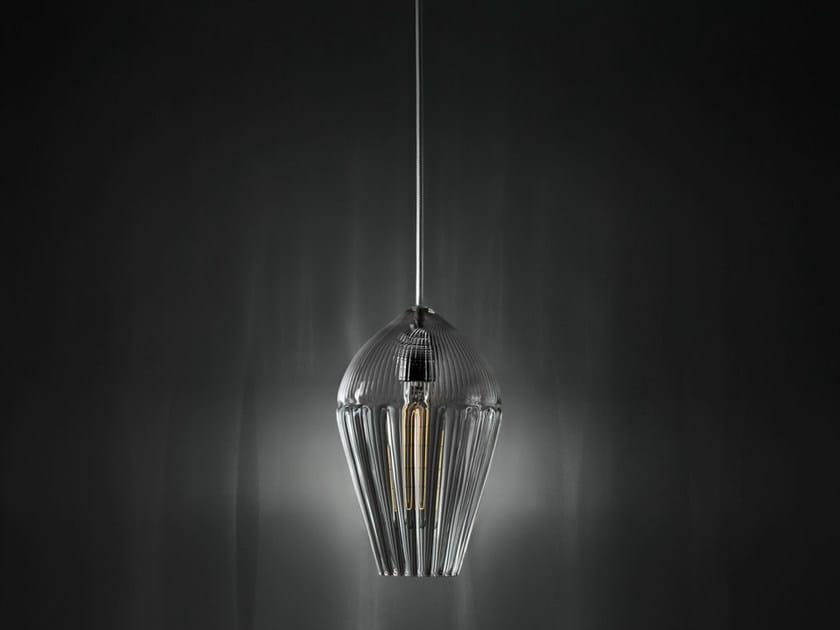 Lampada a sospensione in vetro ALBA | Lampada a sospensione - ILIDE