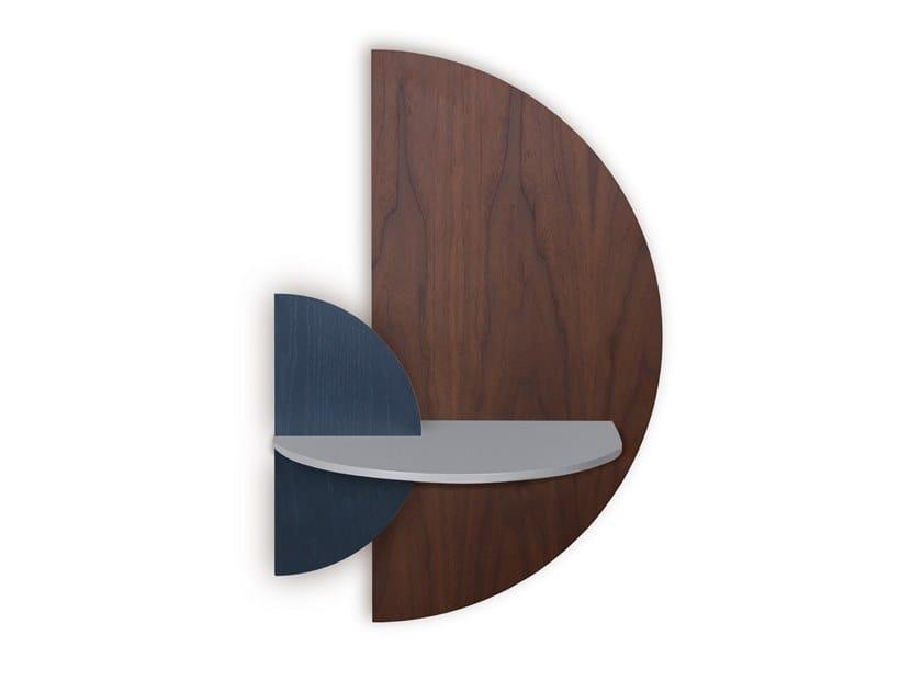 Madera Alba M Semi Circle By Woodendot, Half Round Wall Shelf