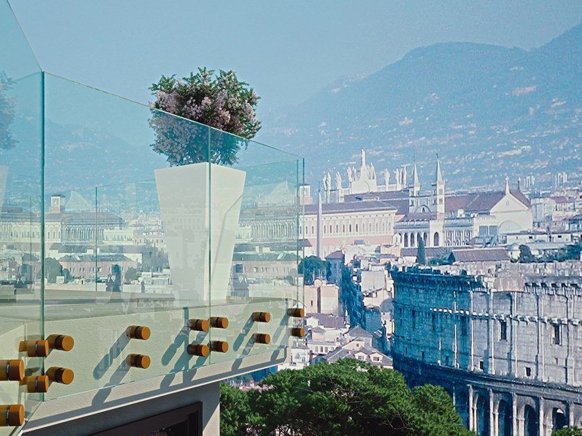 Parapetto in vetro ALBA MAGIC by FARAONE