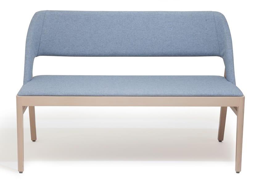 Fabric small sofa ALBA   Small sofa by Blifase