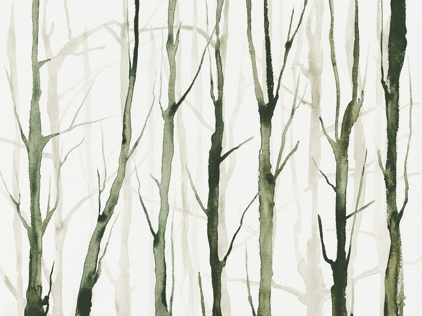 Wallpaper ALBERI ZEN by Tecnografica Italian Wallcoverings