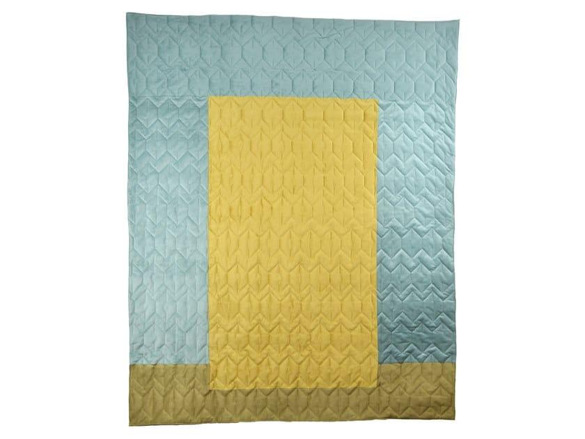 Reversible quilt ALBERS TERRA | Quilt by KHEM Studios