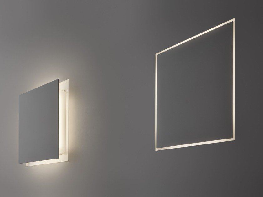 LED indirect light wall lamp ALDECIMO by PANZERI