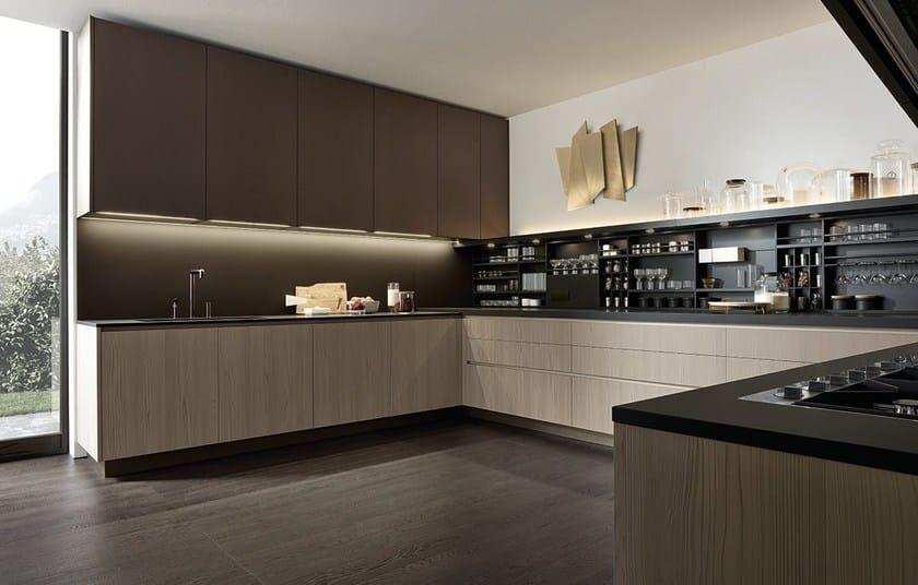 Cucina componibile ALEA By poliform design Paolo Piva