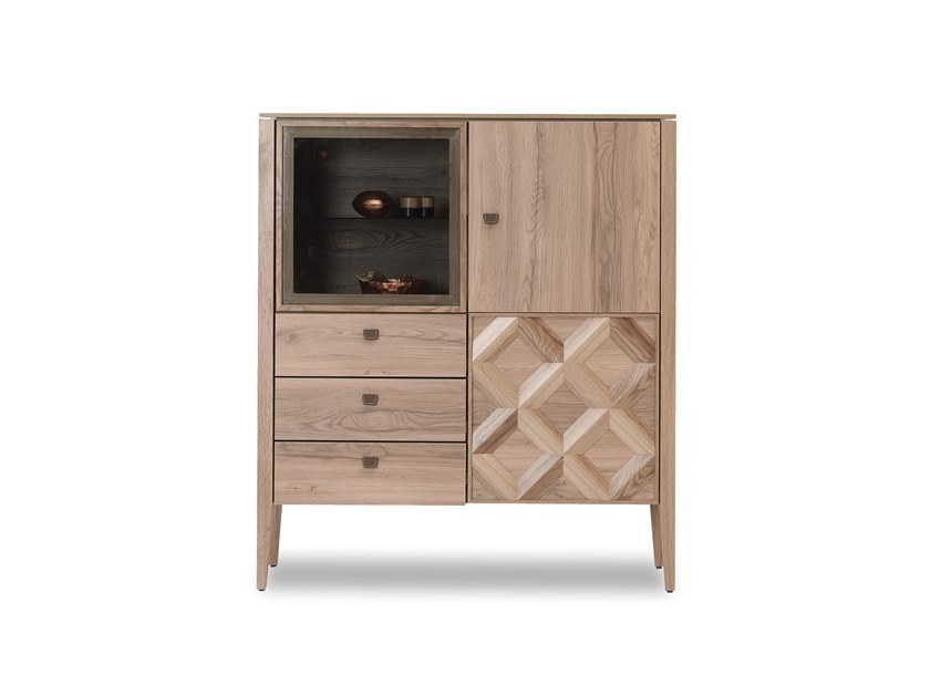 MDF highboard with drawers ALESSA | Highboard by Enza Home