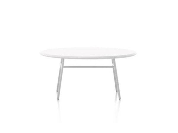 Round metal coffee table ALETA | Round coffee table by Viccarbe