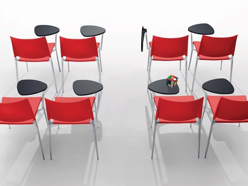 Sedie Ufficio Con Ribaltina : Alexa sedia da conferenza by rexite design raul barbieri